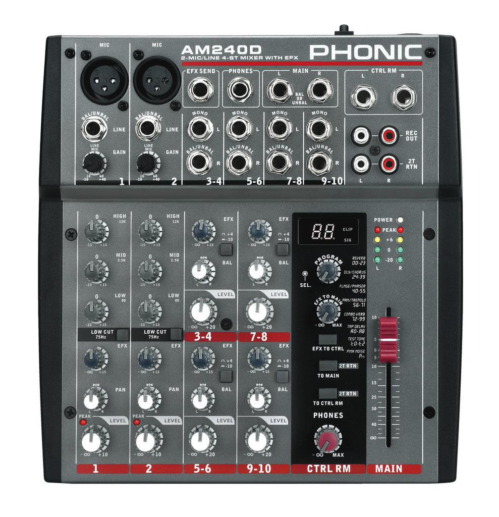 PHONIC Am240d - La Pietra Music Planet