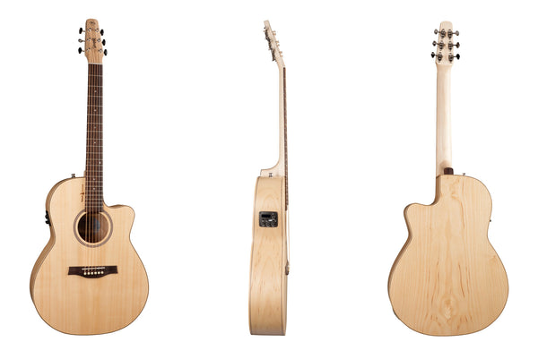 SEAGULL Natural Elements Amber Trail Cw Sg BBT35 - La Pietra Music Planet