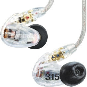 SHURE Se315cle Clear Auricolare in Ear - La Pietra Music Planet