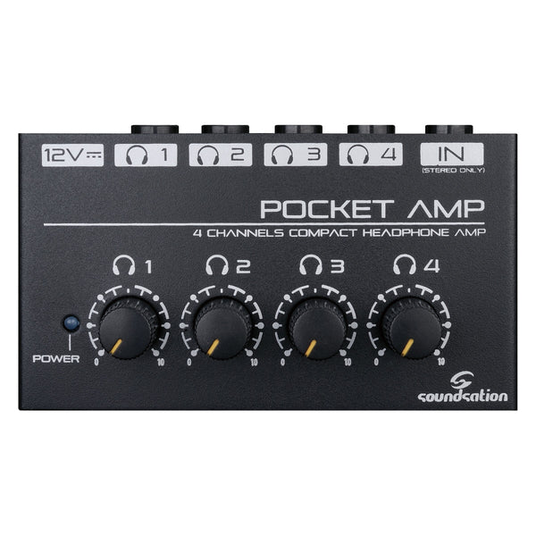 SOUNDSATION Pocket Amp Pre Cuffia