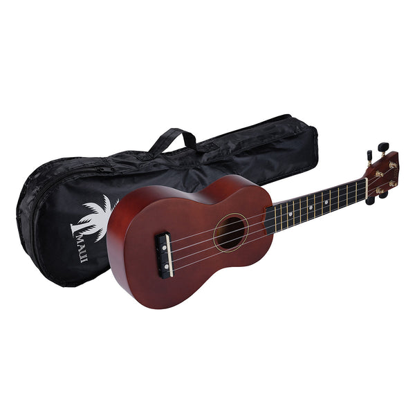 SOUNDSATION MUk10 Ukulele Soprano Marrone Con Borsa - La Pietra Music Planet