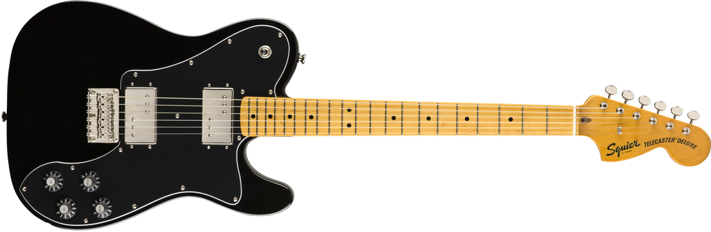SQUIER Classic Vibe '70s Telecaster® Deluxe MN Black