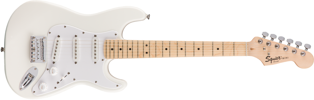 SQUIER Strato Affinity Mini Mpl Olympic White V.2