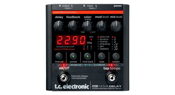 TC ELECTRONIC ND1 Nova Delay - La Pietra Music Planet
