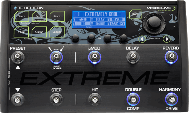 TC HELICON VoiceLive 3 Extreme - La Pietra Music Planet - 1