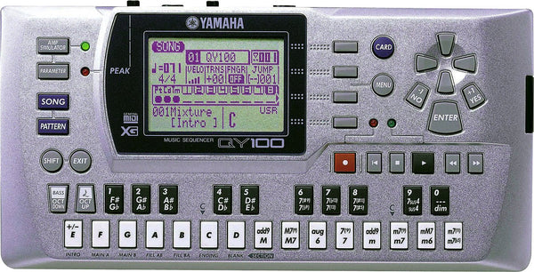 YAMAHA QY100 Used - La Pietra Music Planet