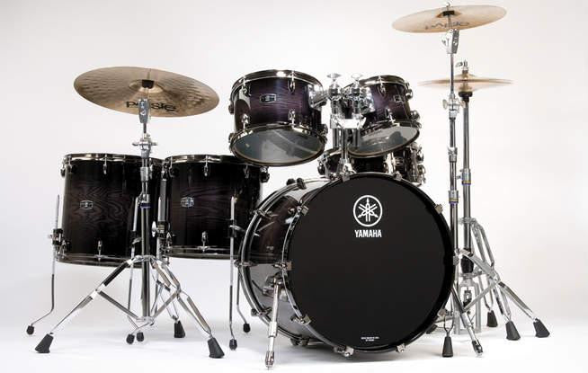 YAMAHA Live Custom Oak Black Shadow sb bws Black violet sumata - La Pietra Music Planet