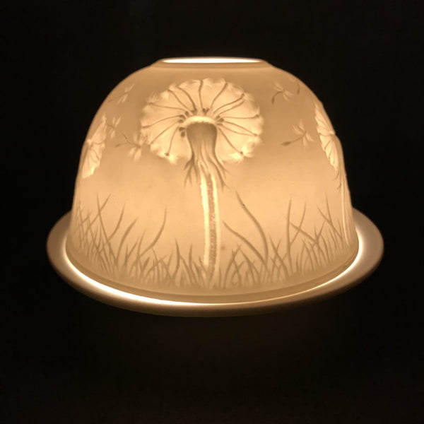 Porcelain Dome Design 60 - Dandelion