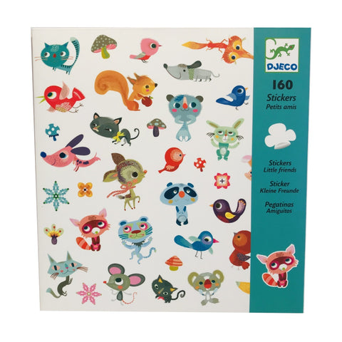 160 Animal Stickers