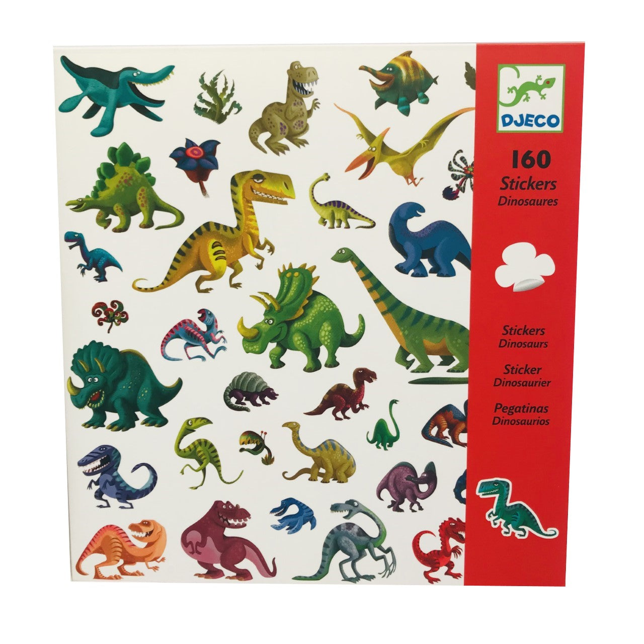 160 Dinosaur Stickers