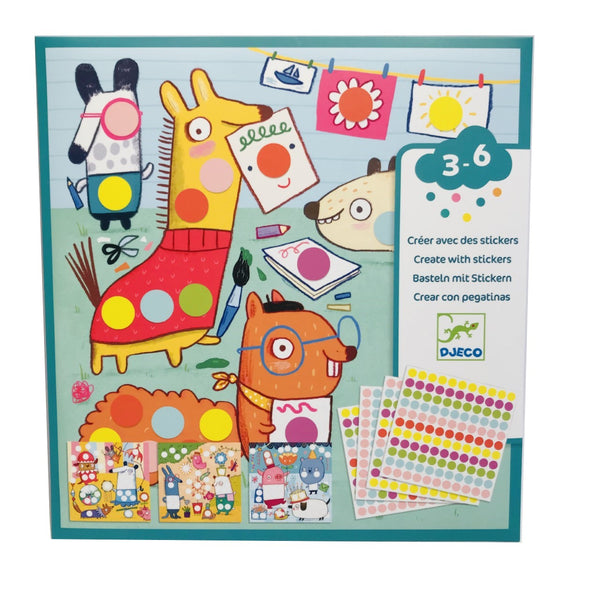 Dotty Sticker Animal Activity Sheets