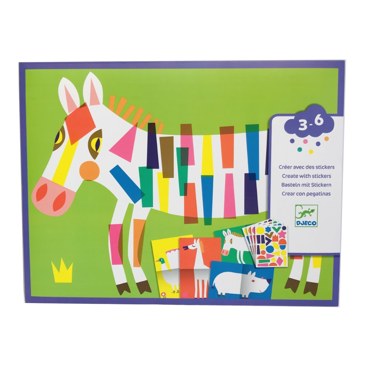 Giant Animal Poster Sticker Activity Sheets