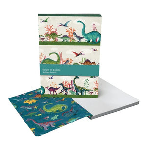 A5 Lined Dinosaur Journal