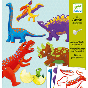 Jumping Jacks Moveable Dinosaurs