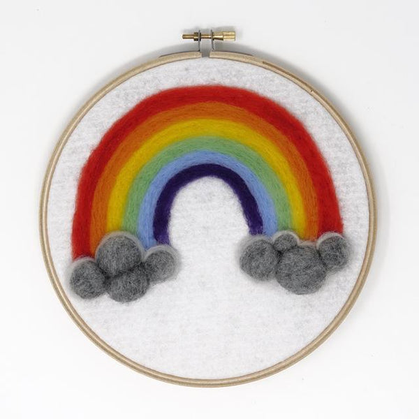 Rainbow of Hope Needle Felt Kit