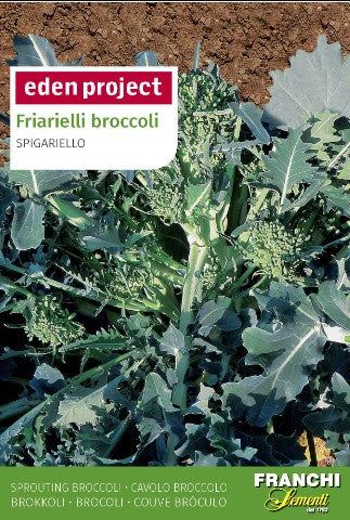 Eden Project Friarielli Broccoli Seeds