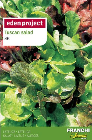 Eden Project Tuscan Salad Lettuce Mix Seeds
