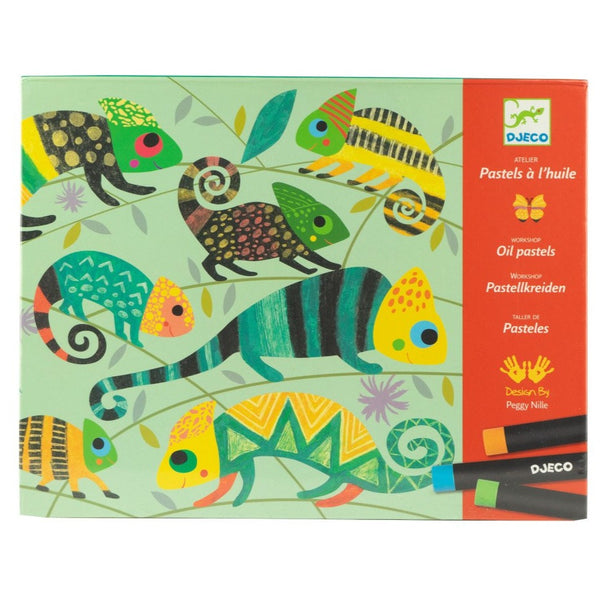 Jungle Oil Pastels Kit