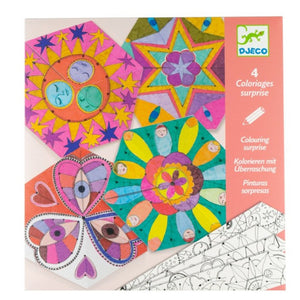 Colouring Suprise – Constellation Mandalas