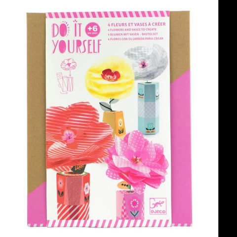 Paper Flower and Vase Making Kit