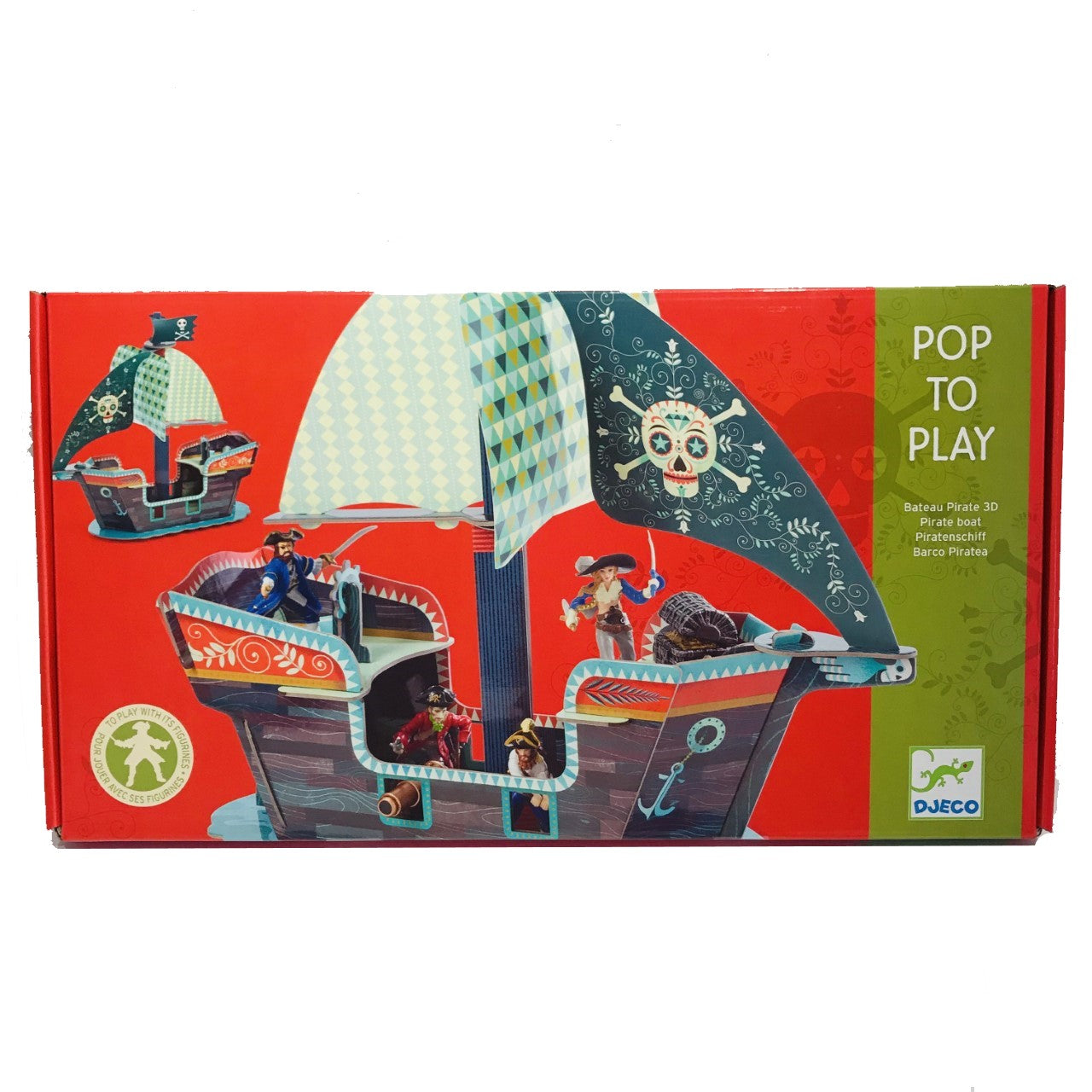 Pop Out Pirate Ship