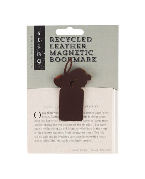 Recycled Leather Bookmark Rabbit