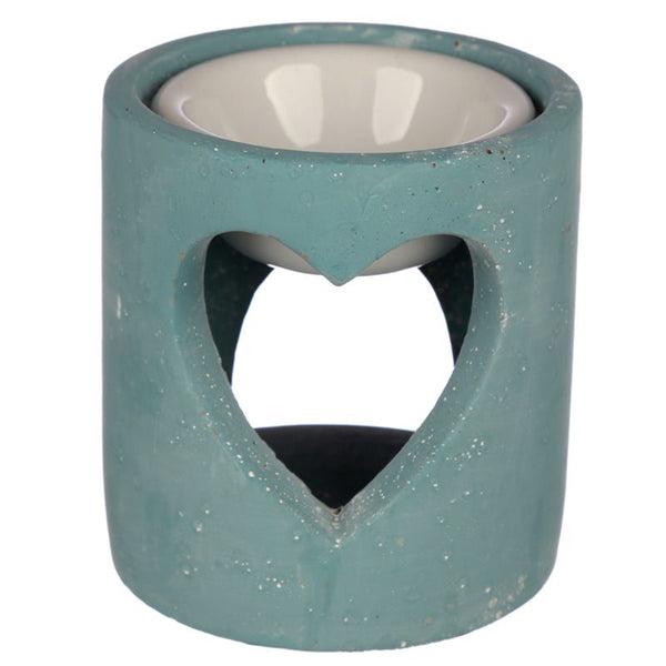 Concrete Oil Burner