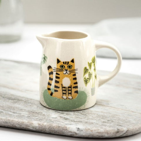 Small Jug With Cat Design
