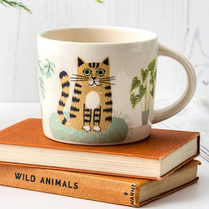 Mug With Cat Design