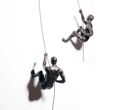 Bronze Effect Climbing Men