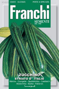 Striato D'Italia Courgette Seeds