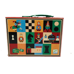 Travel Chess and Draughts Set