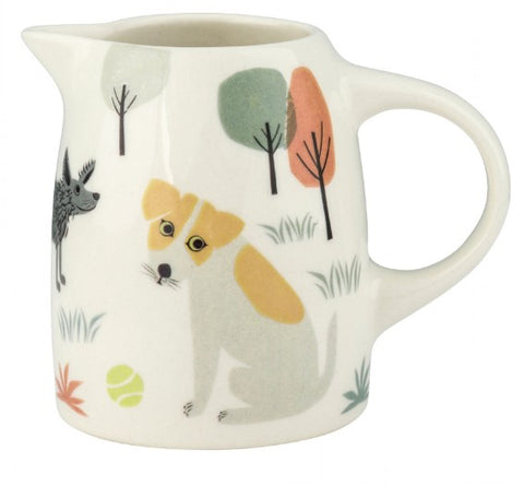 Small Jug With Dog Design