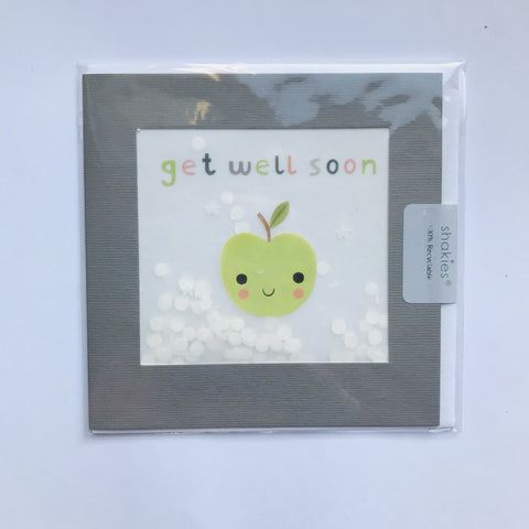 Get Well Soon Confetti Card