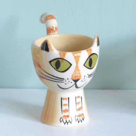Ginger Cat Egg Cup