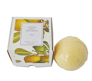 Lemon Bath Bomb