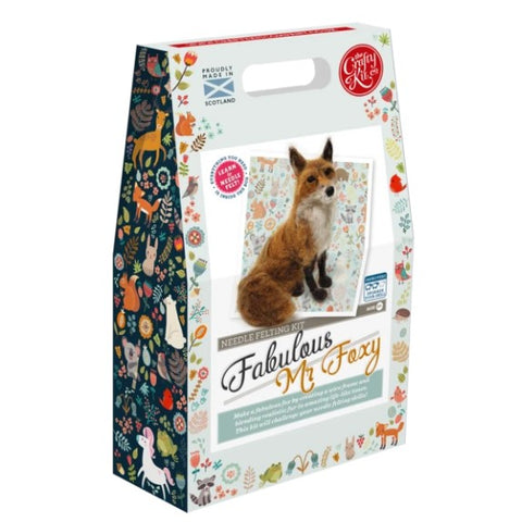 Fabulous Mr Foxy Needle Felting Kit