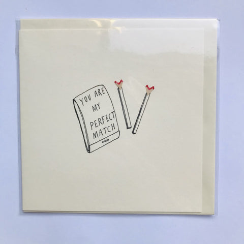 Perfect Match Pencil Shaving Card
