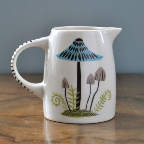 Small Jug With Toadstool Design