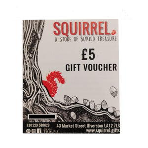 £5 Squirrel Gift Voucher
