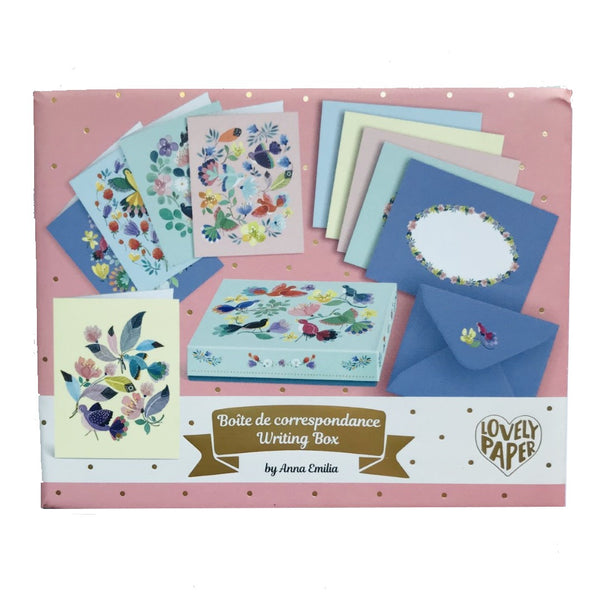 Boxed Floral Notecard Set