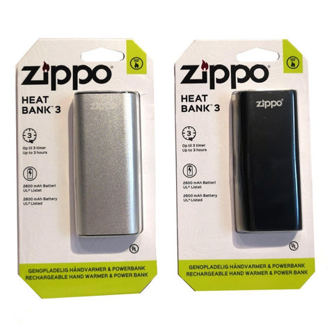 3 Hour Rechargeable Handwarmer and Powerbank - Set of Two