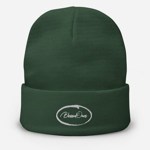 BlessedOnes Embroidered Beanie