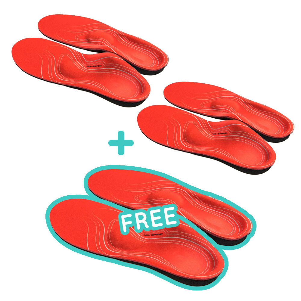 BR Pronation+ Orthopedic Insoles - 3 Pairs (Buy 2 Get 1 Free Special)
