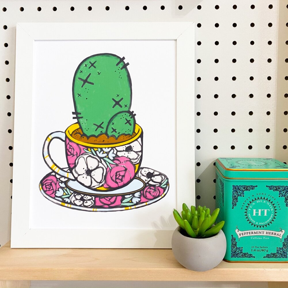 Texas Teacup | Art Print