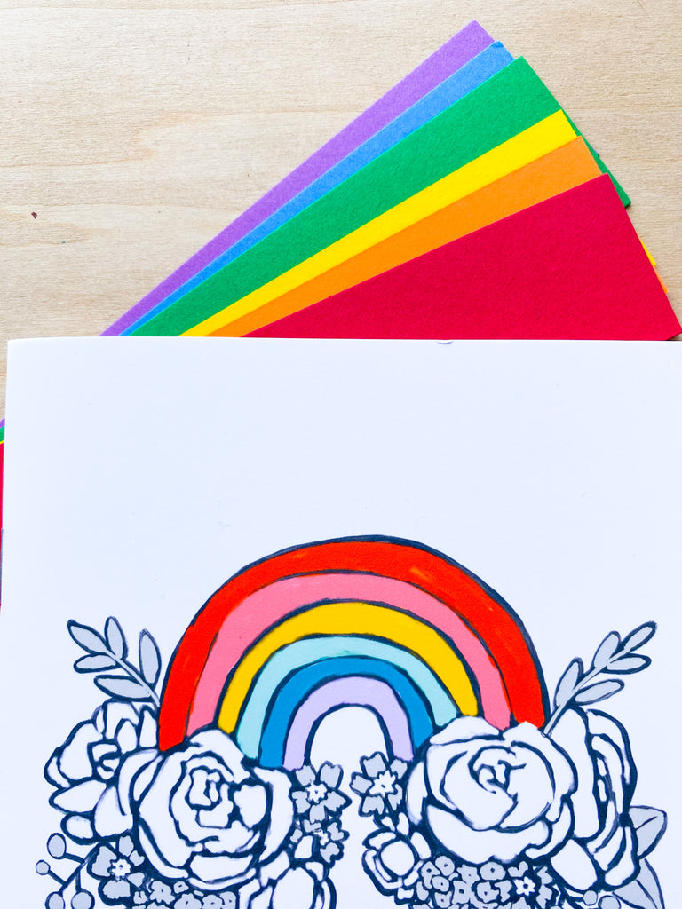 Rainbow Traveler's Notebook Bundle