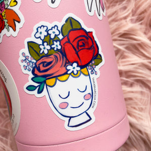 Madeline Vase | Sticker