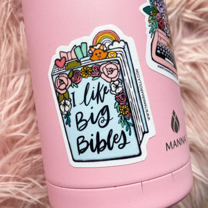 I Like Big Bibles | Sticker