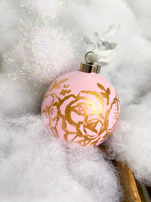 Glad Tidings in Blush & Gold