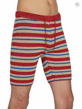 Load image into Gallery viewer, MIKE BIKER SHORT KNIT STRIPE